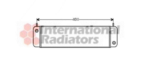 Radiateur d'huile - VAN WEZEL - 30003010