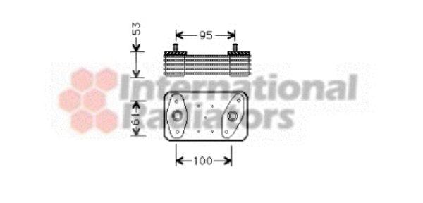 Radiateur d'huile - VWA - 88VWA30003226