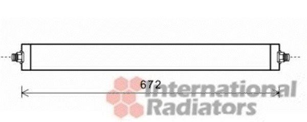 Radiateur d'huile - VAN WEZEL - 30003531