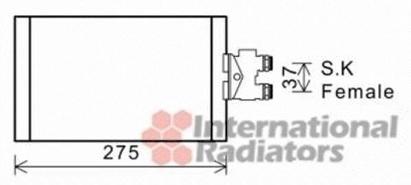Radiateur d'huile - VAN WEZEL - 30003535