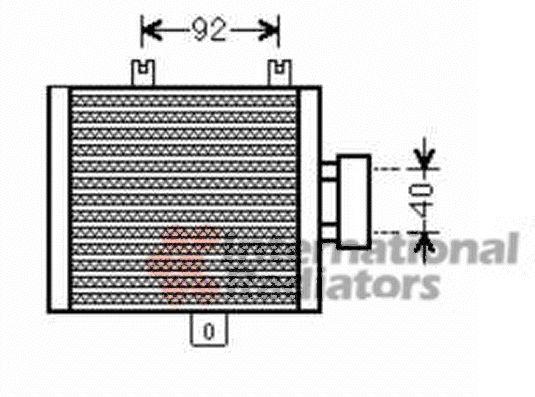 Radiateur d'huile - VAN WEZEL - 30003536