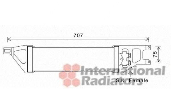 Radiateur d'huile - VAN WEZEL - 30003539