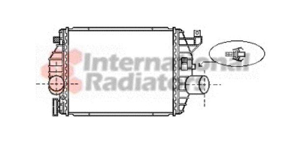 Intercooler, échangeur - VAN WEZEL - 30004357