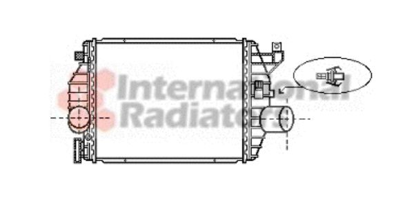 Intercooler, échangeur - VWA - 88VWA30004357