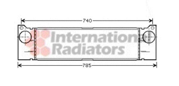 Intercooler, échangeur - VAN WEZEL - 30004370