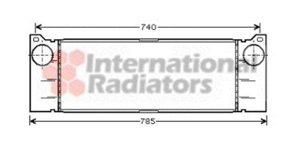 Intercooler, échangeur - VWA - 88VWA30004371