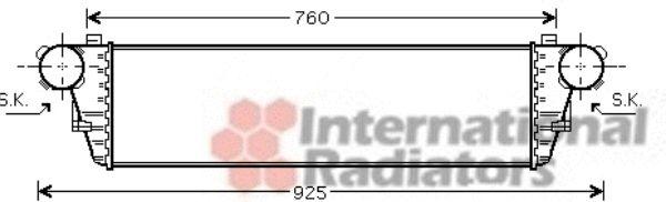Intercooler, échangeur - VWA - 88VWA30004380