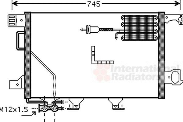 Condenseur, climatisation - VWA - 88VWA30005361