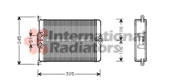Système de chauffage - VAN WEZEL - 30006239