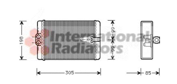 Système de chauffage - VAN WEZEL - 30006250