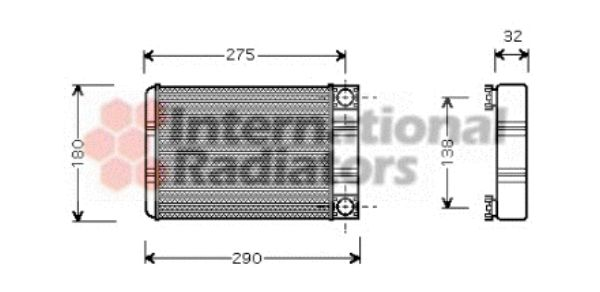 Système de chauffage - VAN WEZEL - 30006312
