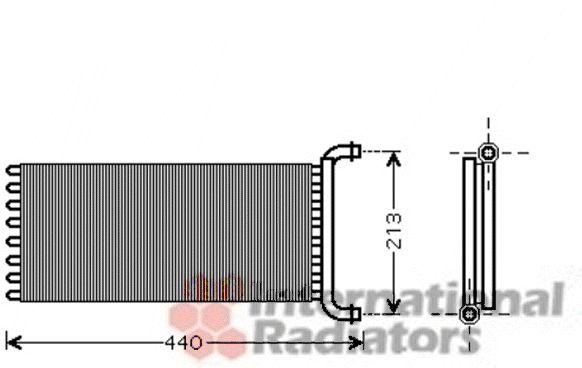Système de chauffage - VAN WEZEL - 30006399