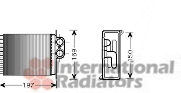 Système de chauffage - VAN WEZEL - 30006400