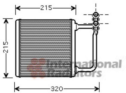 Système de chauffage - VAN WEZEL - 30006451