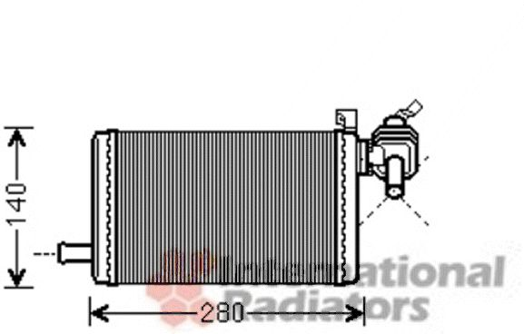 Système de chauffage - VAN WEZEL - 30006483