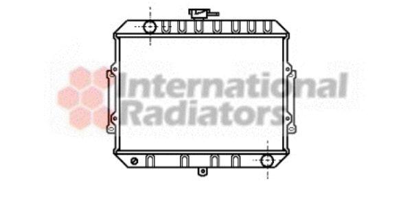 Radiateur, refroidissement du moteur - VAN WEZEL - 32002008