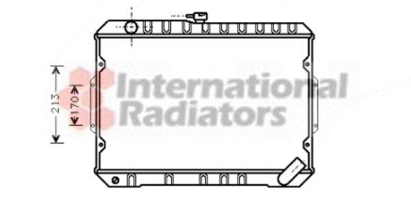 Radiateur, refroidissement du moteur - VWA - 88VWA32002027