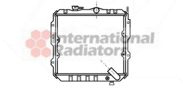 Radiateur, refroidissement du moteur - VWA - 88VWA32002032