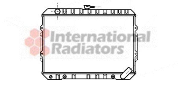 Radiateur, refroidissement du moteur - VAN WEZEL - 32002050