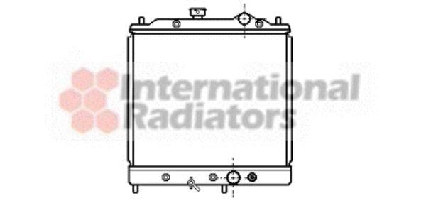 Radiateur, refroidissement du moteur - VAN WEZEL - 32002068