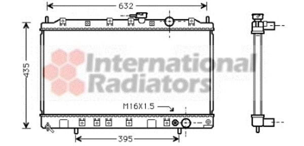 Radiateur, refroidissement du moteur - VWA - 88VWA32002080