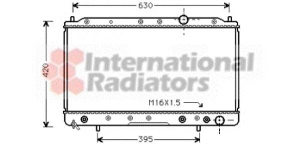 Radiateur, refroidissement du moteur - VWA - 88VWA32002083