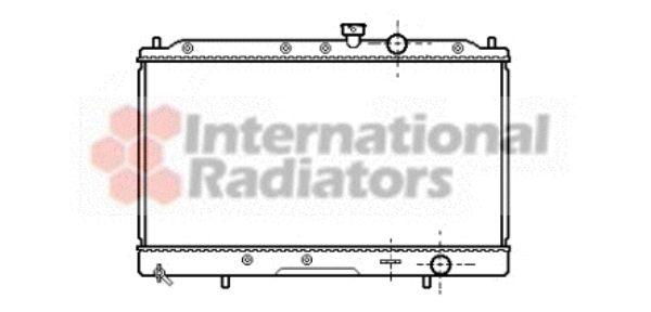 Radiateur, refroidissement du moteur - VAN WEZEL - 32002086