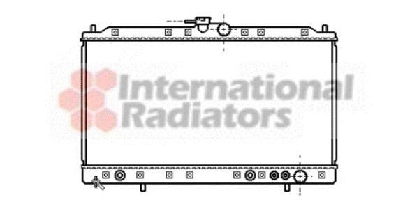 Radiateur, refroidissement du moteur - VAN WEZEL - 32002091