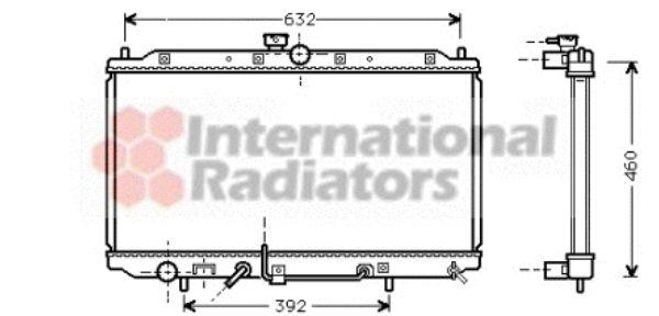 Radiateur, refroidissement du moteur - VWA - 88VWA32002112