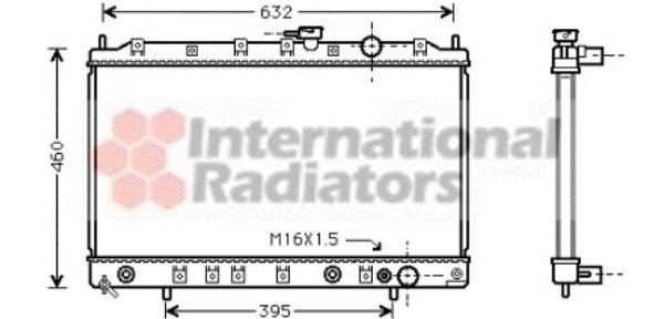 Radiateur, refroidissement du moteur - VWA - 88VWA32002135