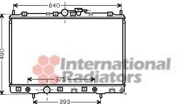 Radiateur, refroidissement du moteur - VWA - 88VWA32002200