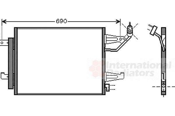 Condenseur, climatisation - VWA - 88VWA32005177