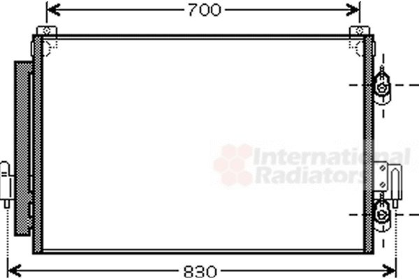 Condenseur, climatisation - VWA - 88VWA32005178