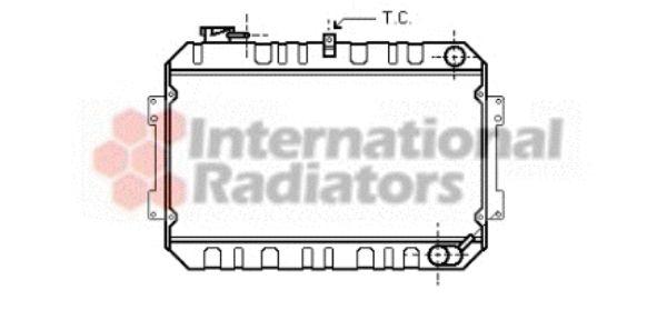 Radiateur, refroidissement du moteur - VWA - 88VWA27002017