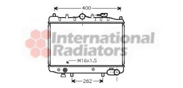 Radiateur, refroidissement du moteur - VAN WEZEL - 27002023