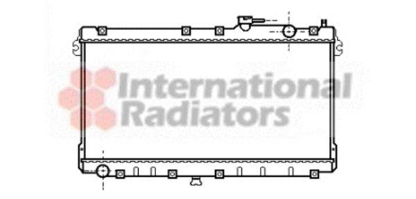 Radiateur, refroidissement du moteur - VAN WEZEL - 27002087