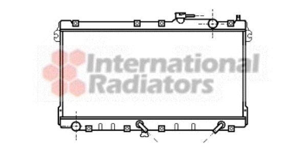 Radiateur, refroidissement du moteur - VAN WEZEL - 27002094