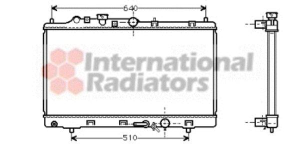 Radiateur, refroidissement du moteur - VWA - 88VWA27002154