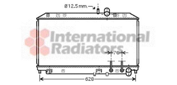 Radiateur, refroidissement du moteur - VWA - 88VWA27002177