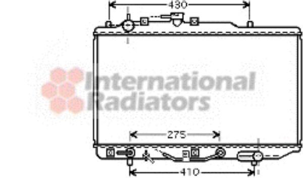 Radiateur, refroidissement du moteur - VAN WEZEL - 27002178