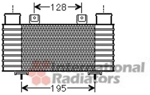Intercooler, échangeur - VAN WEZEL - 27004239
