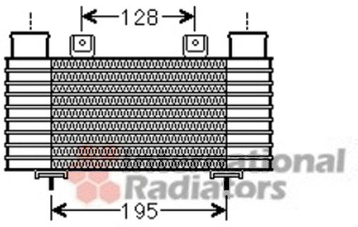 Intercooler, échangeur - VWA - 88VWA27004239