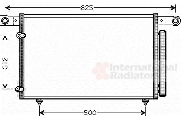 Condenseur, climatisation - VAN WEZEL - 27005196