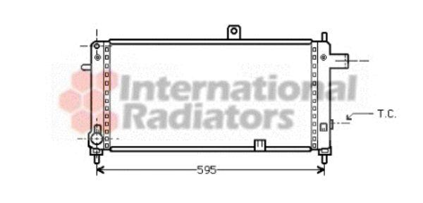 Radiateur, refroidissement du moteur - VWA - 88VWA37002054