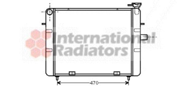 Radiateur, refroidissement du moteur - VAN WEZEL - 37002077