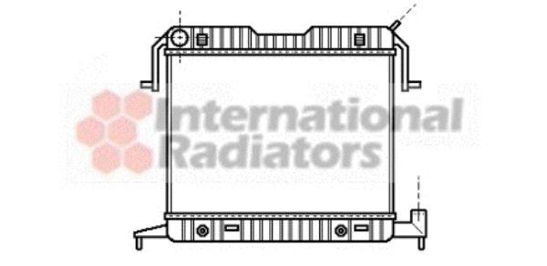 Radiateur, refroidissement du moteur - VWA - 88VWA37002086