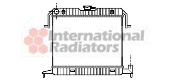 Radiateur, refroidissement du moteur - VAN WEZEL - 37002087