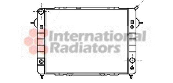 Radiateur, refroidissement du moteur - VAN WEZEL - 37002090