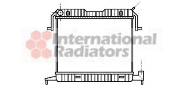 Radiateur, refroidissement du moteur - VAN WEZEL - 37002105