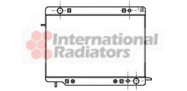 Radiateur, refroidissement du moteur - VAN WEZEL - 37002141